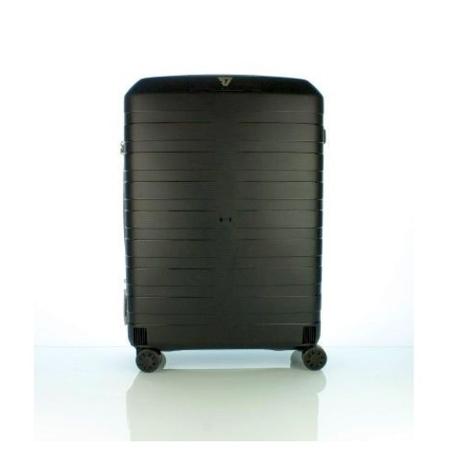 Valigia trolley rigida, cabine size 69x46x26, capienza 80 litri, peso 2,9 Kg, 4 ruote indipendenti multidirezionabili.