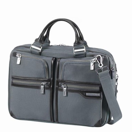 SAMSONITE GT SUPREME ,39.6cm/15.6inch Grey/Black
