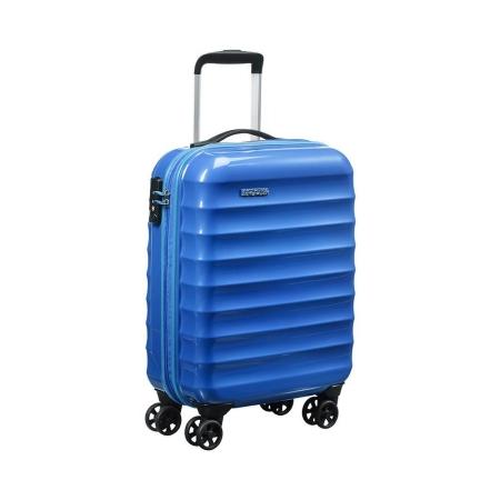 AMERICAN TOURISTER Trolley Rigido Cabin Size 55CM BLUE SPARKLE