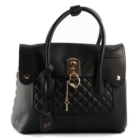 LIU JO Sac Rouge Shopping L BROOKLYN A65223 P0006 Nero