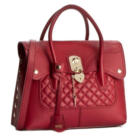 LIU JO Sac Rouge Shopping M Brooklyn A65224 P0006 Pepper