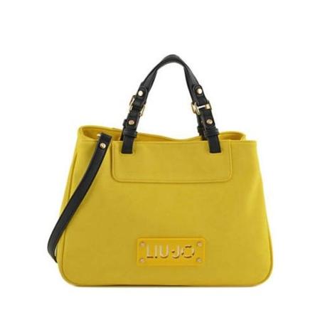 LIU JO Shopping Bag DIA A16145 E0037 Empire Yellow
