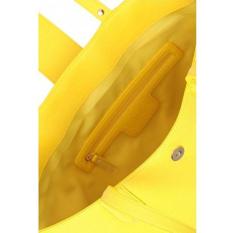 LIU JO Shopping KOS A16035 E0087 Empire Yellow - Bagsabout 98ec617be44