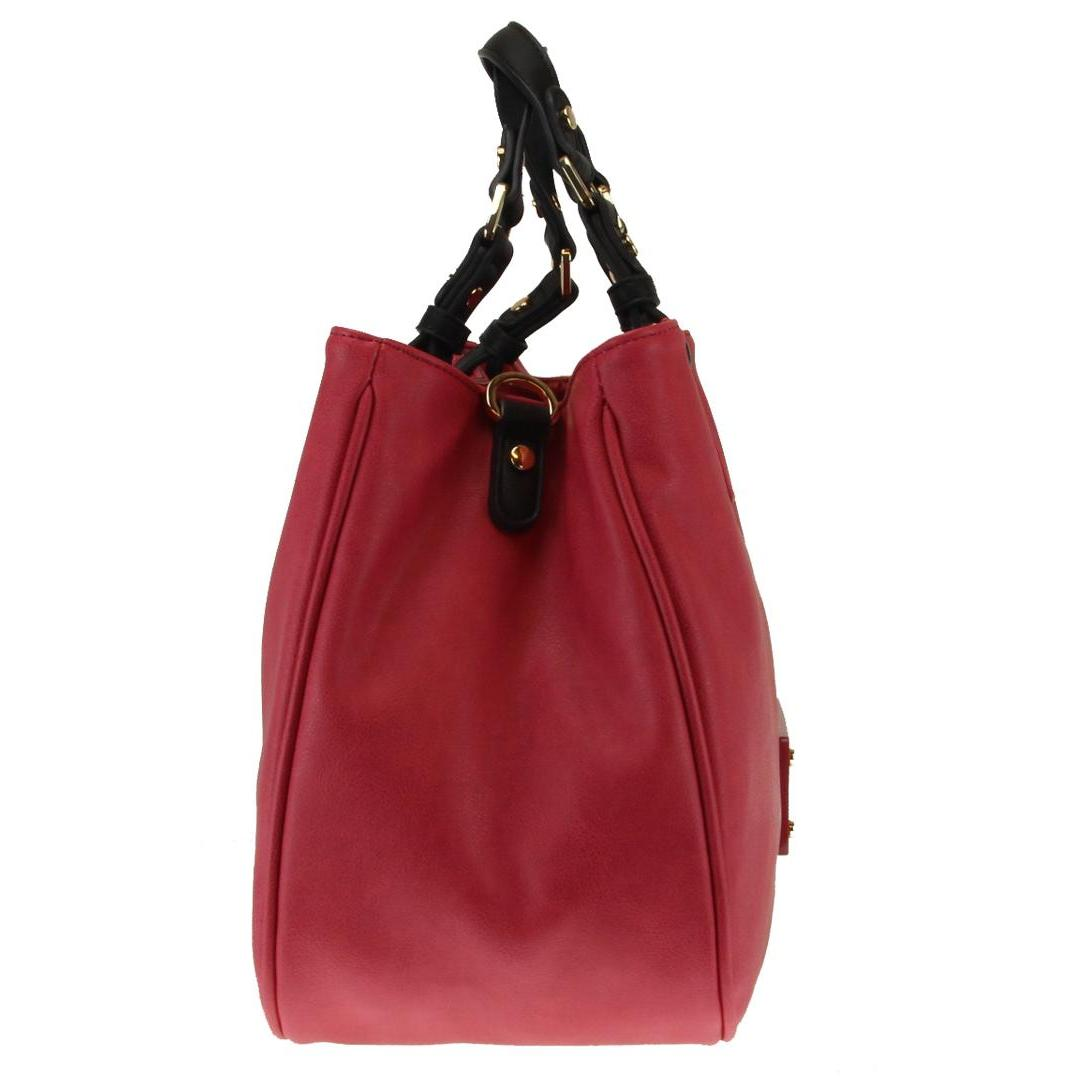 LIU JO Shopping Bag DIA A16145 E0037 Dusty Red - Bagsabout add0414f0e8
