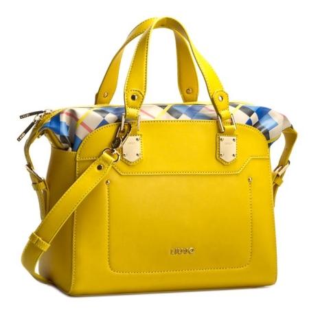 LIU JO Bauletto BOWLING CRETA A16131 Empire Yellow