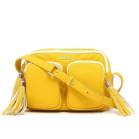 LIU JO Tracolla EUBEA N16061 Empire Yellow - Bagsabout 57611ed0a24