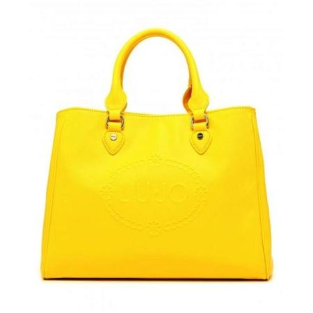LIU JO Bauletto M CORALLO N16227 Empire Yellow