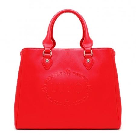 LIU JO Bauletto M CORALLO N16227 Dusty Red