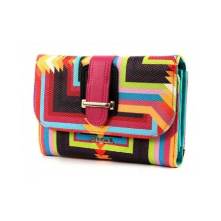 DESIGUAL Portafoglio LENGUETA OJOS DE DIOS 61Y53M8 Multicolor