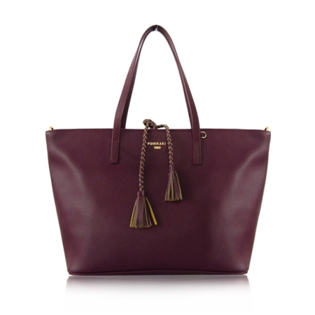 POMIKAKI Shopper Berta BE02-I16051 Red Wine