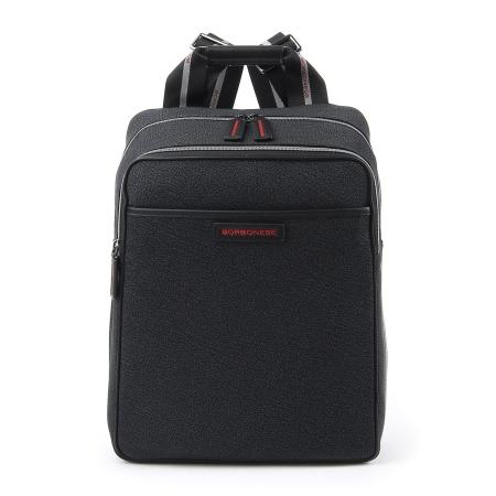 BORBONESE Zaino Uomo porta PC/Tablet FABRIC J29 Black