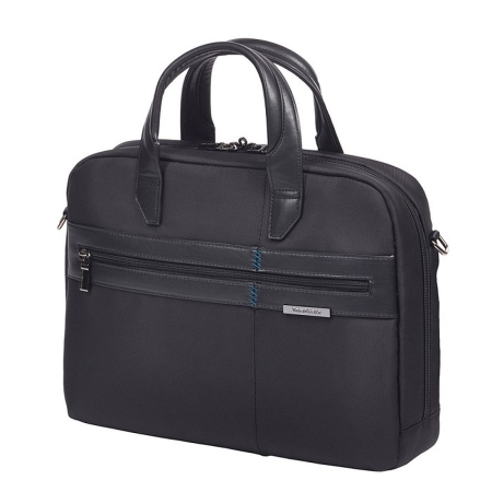 "SAMSONITE Formalite Bailhandle 14.1"" Black"