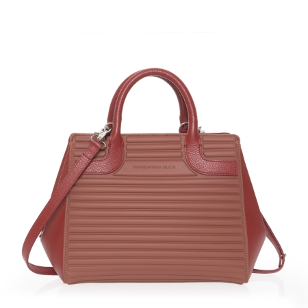 MANDARINA DUCK Borsa a Mano YOU SET02 Brick Red