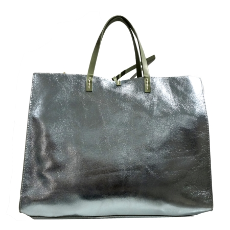 MANILA GRACE Borsa Felicia Bag Big Tote P8/W/W01317 Acqua