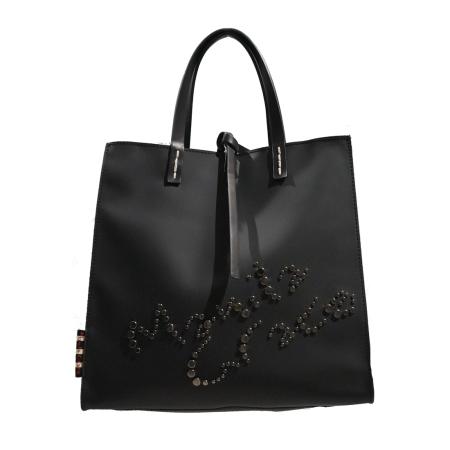 MANILA GRACE Felicia Bag Medium P8/W/W01335 Nero