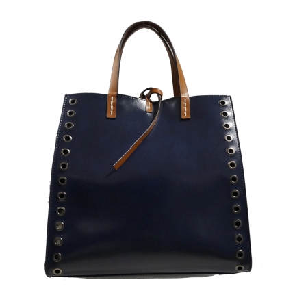 MANILA GRACE Felicia Bag Medium W/W01336 Blu