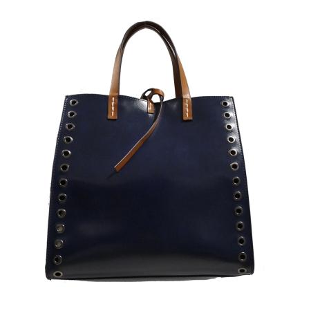 MANILA GRACE Felicia Bag Medium W/W01336 Blu