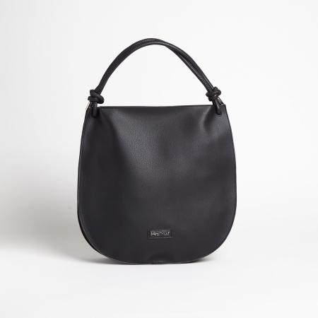 MIMI' MUA' Borsa Hobo Bag M8-C1917 Nero