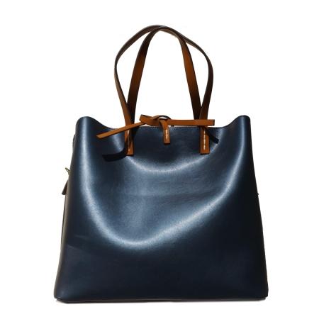 MANILA GRACE Shopping Fiona Medium P8/W/W01306 Blu Metal