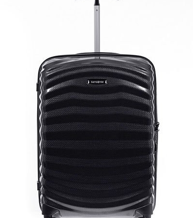 SAMSONITE Trolley Cabina LITE-SHOCK 62764-1041 (4 RUOTE) 55CM Black