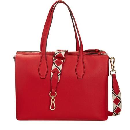 SAMSONITE Shopping Bag SERAPHINA CD250003 Scarlet Red