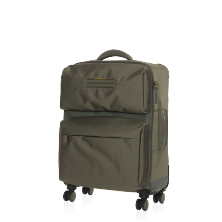 MANDARINA DUCK Medium Trolley WORK NOW SKV03 Soldier