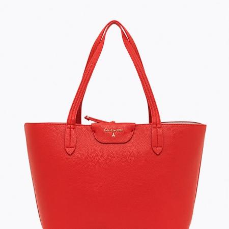 PATRIZIA PEPE Borsa Shopping Reversibile 2V5452 AV63 Red/Rose