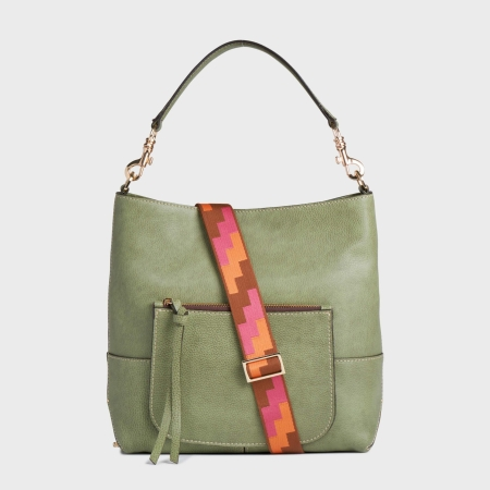GIANNI CHIARINI Borsa JADE LARGE BS6201RMN/RE Muschio