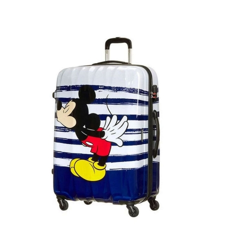 AMERICAN TOURISTER Spinner 4 ruote DISNEY LEGENDS 64479-6975 Mickey Kiss