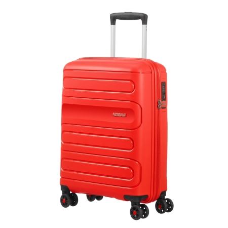 AMERICAN TOURISTER Spinner SUNSIDE (4 ruote) 55cm 107526-0409 Sunside Red