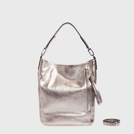 GIANNI CHIARINI Shopping BETTY MEDIUM BS6186LMW Platino