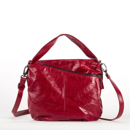 BRUNO ROSSI Sacca Piccola in Pelle PLACK W2 Rosso