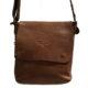 AVIREX Crossbody Bag Small TIGERFLY AVX-TGF-306-LGBW Light Brown