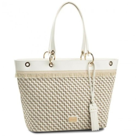 LIU JO Large Tote VIRGINIA N18225/E0002 Naturale