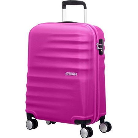 AMERICAN TOURISTER Cabin Spinner WAVEBREAKER (4ruote) Hot Lips Pink