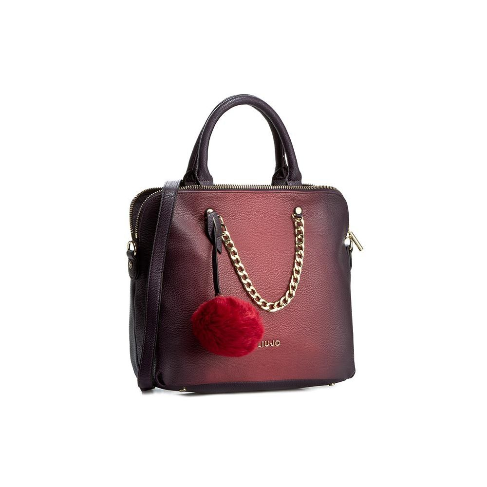 667c01c3d50c3 LIU JO Shopping M Poppa Deep Violet - Bagsabout