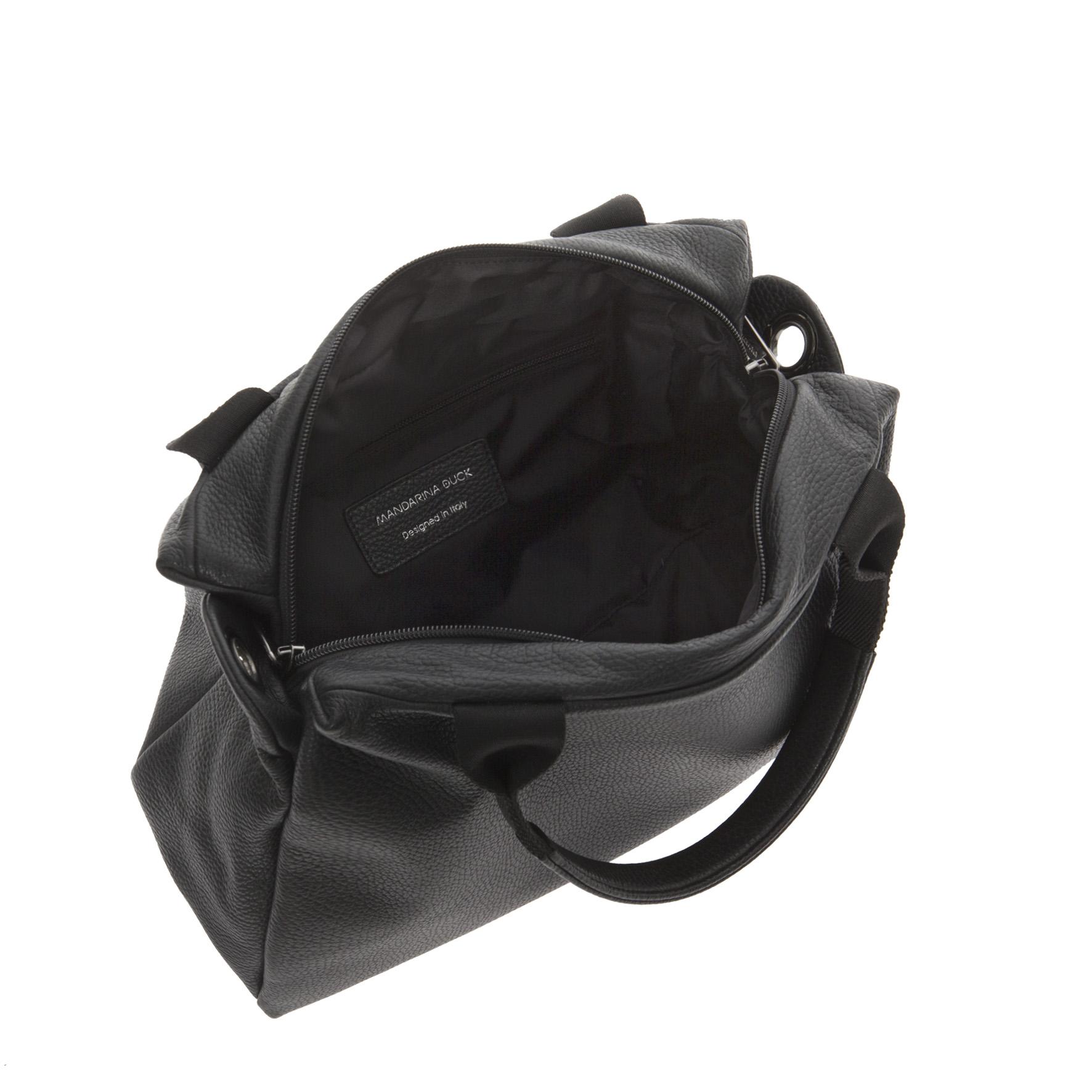 4a61812199 Mellow Leather Shoulder Bag Mandarina Duck | The Art of Mike Mignola