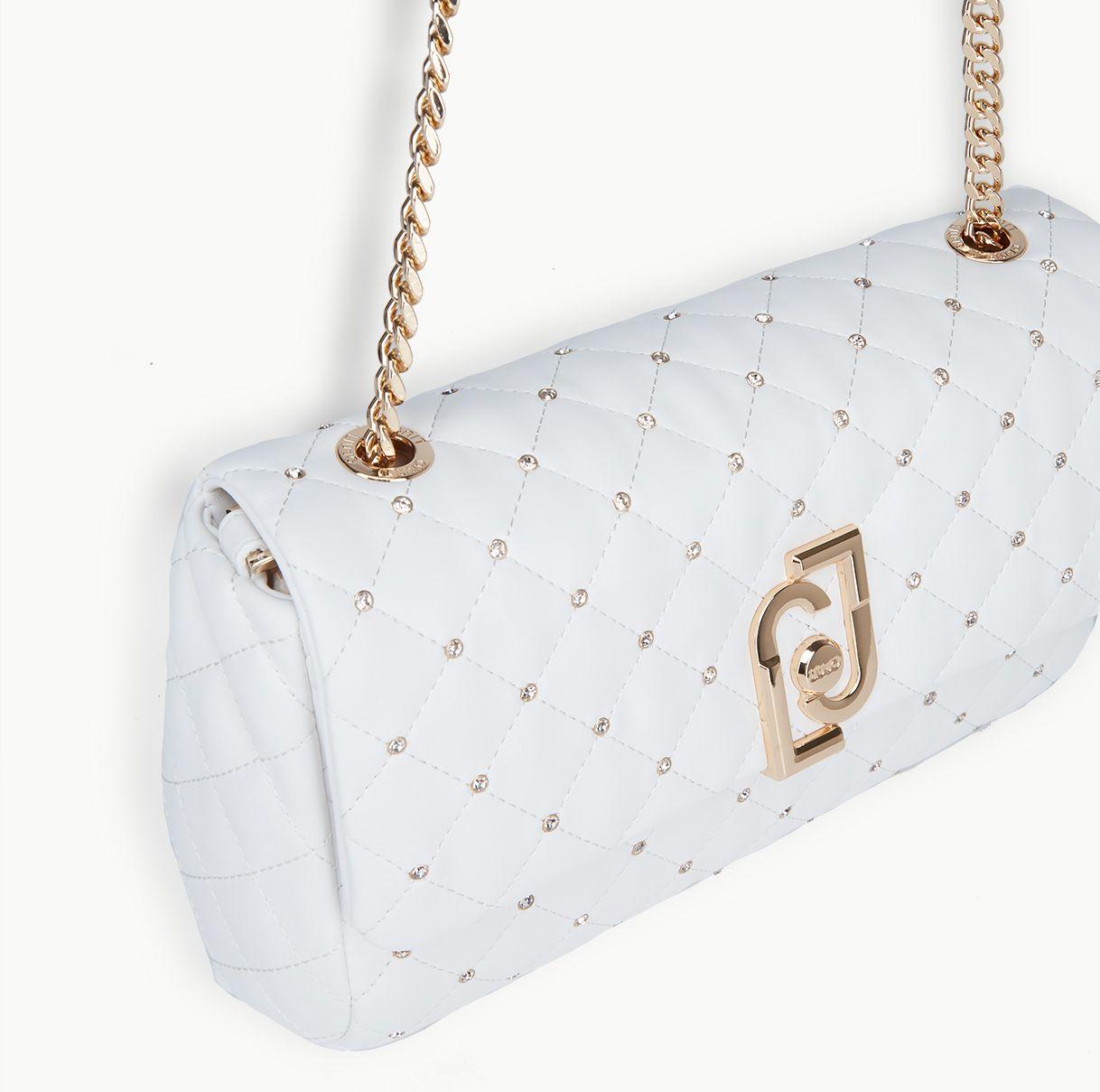 LIU JO Borsa Spot Natale IT BAG AA0211 Bianco Lana - Bagsabout